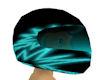 helmet aqua n black