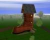 A 3 Story Shoe House