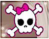 skull girl headpin