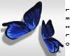 ! L! Blue Butterfly