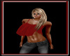 Sin's Belly Shirt- Red