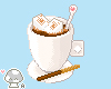 Cup with cream