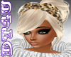 DT4U Blond leopard bow