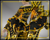 Empress Black/Gold Shawl