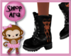 Kids Guys Spooky Boots