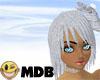 ~MDB~ SILVER JANIE HAIR
