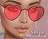 ❤ Lovely Red Glasses