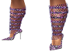 *AL* Purple Sparkle Heel