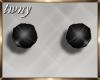 20s Black Pearl Earrings