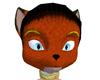 Orange Vixen Head
