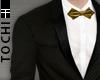 #T Regal Suit #Blk-Gold