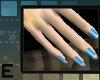 *¡e!*BLUE NAILS!