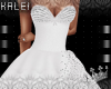 ♔K Belle Gown White