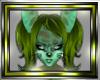 !Fx Furry Green Hair