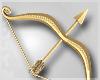 Gold Bow & Arrow
