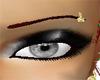 *BG* Gold Eyebrow ring