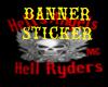 HAHR  Banner sticker