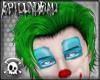 Carmine Clown Green