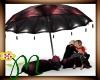 *M* Kiss under Umbrella