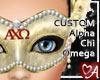 .a Mask Alpha Chi Omega