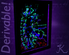 Black Light Poster MESH