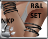Multi Armbands R&L set