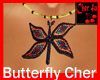 Butterfly necklace cher
