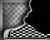 Emo shoes/black socks