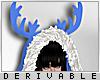 0 | Fur Reindeer Hood