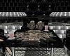 Glass Skull Dance Table