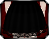 Lace Trim Skirt ~ Onyx