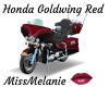 Honda Goldwing Red