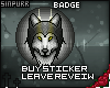 S; Badge - MidnightWolf