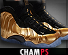 Gold Foamposite'