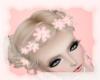 A: Blush flower crown