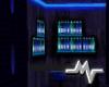 [M] Apartment Blue Neon