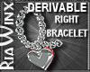 Wx:RT Heart Bracelet DR