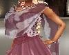 Lite purple&white shawl