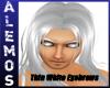 Thin Gray/white eyebrows