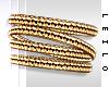 ! L! Gold Bracelet . L