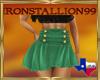 IS Green Mini Skirt