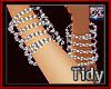 Chain Bracelets Spirals