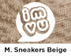 IMVU M Sneakers Beige