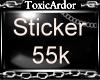 TA 55k Spport Sticker