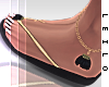 ! L! Stella Black Sandal