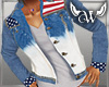 USA FADED 2 PC JACKET