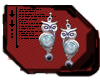 Moonstone Owl Earrings