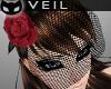[SIN] Rose Veil - Red
