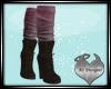 Bronwyn w/ pnk sock