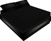 No Pose Black Bed